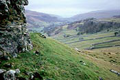 Photo of Dales Way: Up Wharfedale from Conistone Pie